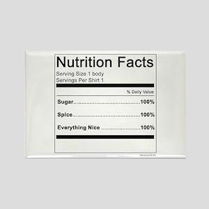Girl Nutrition Rectangle Magnet (10 pack)