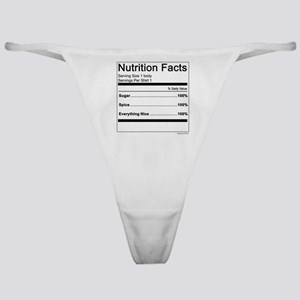 Girl Nutrition Classic Thong