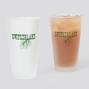 Swiss Roots Drinking Glass