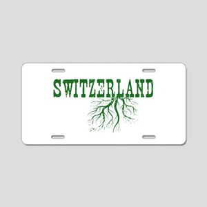 Swiss Roots Aluminum License Plate