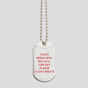 cricket Dog Tags