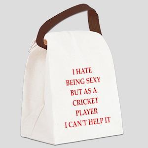 cricket Canvas Lunch Bag