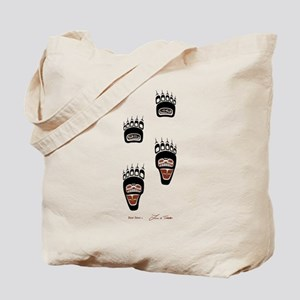 Bear Paws Tote Bag