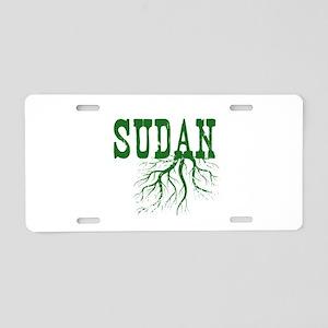 Sudan Roots Aluminum License Plate