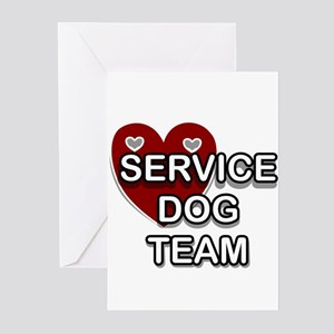 Service dog greeting cards cafepress service dogs greeting cards m4hsunfo