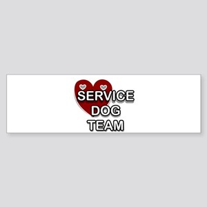 Service Dogs Bumper Sticker