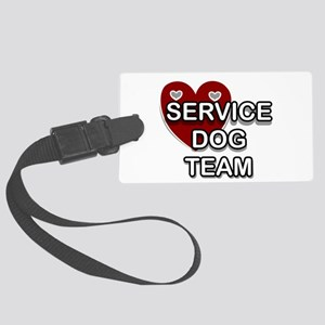Service Dogs Luggage Tag