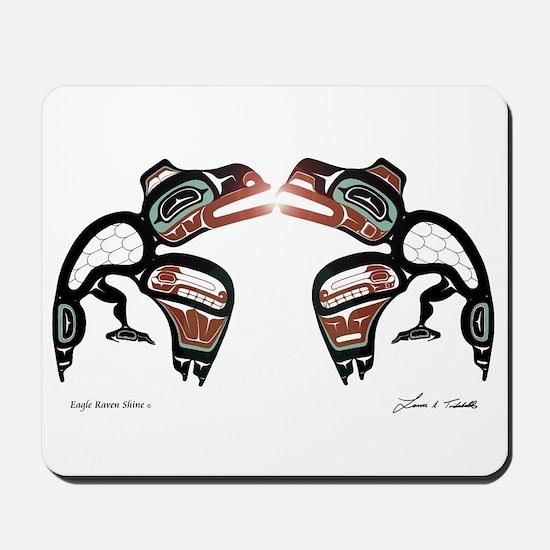 Eagle-Raven Shine Mousepad
