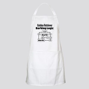 Golden Retriever Logic Apron
