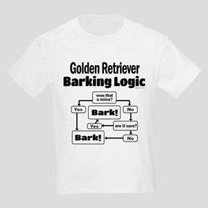 Golden Retriever Logic Kids Light T-Shirt