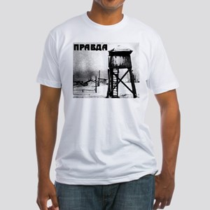 The Truth Soviet Gulag Fitted T-Shirt