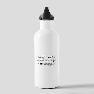 ADD Chicken Stainless Water Bottle 1.0L