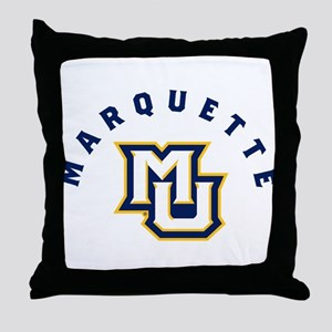 Marquette Golden Eagles MU Throw Pillow