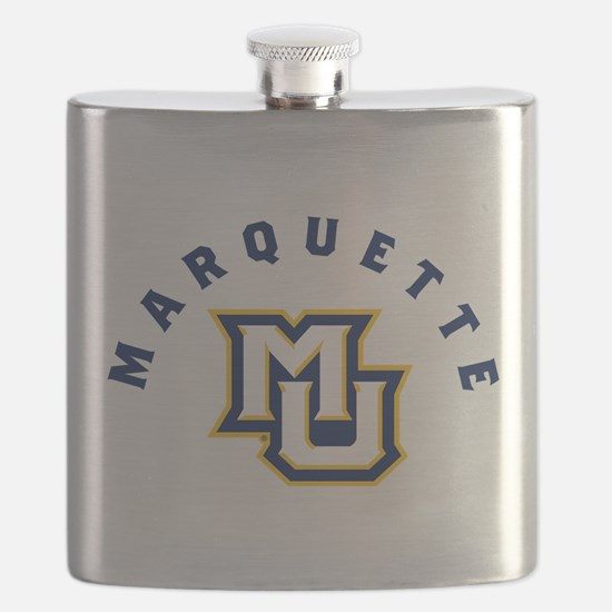Marquette Golden Eagles MU Flask
