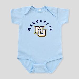 Marquette Golden Eagles MU Baby Light Bodysuit
