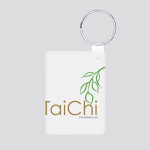 Tai Chi Growth 12 Aluminum Photo Keychain