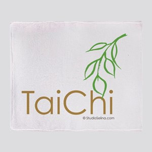 Tai Chi Growth 12 Throw Blanket