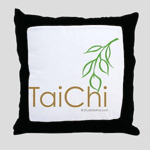 Tai Chi Growth 12 Throw Pillow
