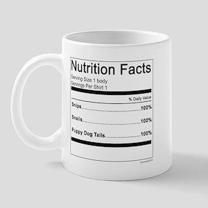 Boy Nutrition Mug
