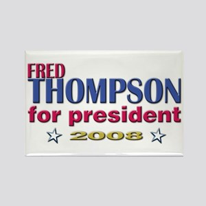 Fred Thompson for Pres Rectangle Magnet