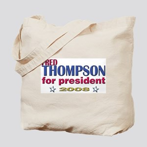Fred Thompson for Pres Tote Bag