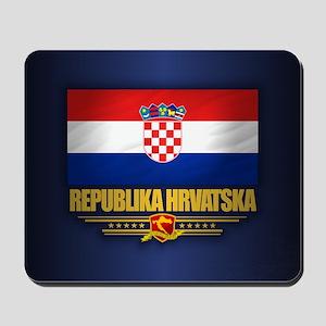 Flag of Croatia Mousepad