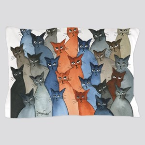 Stray Cats Pillow Case