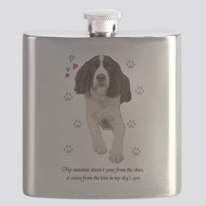 English Springer Spaniel Flask