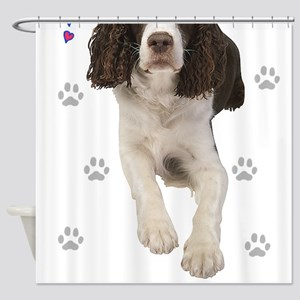 English Springer Spaniel Shower Curtain