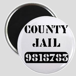 Jail Inmate Number 9818783 Magnet
