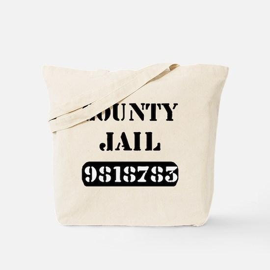 Jail Inmate Number 9818783 Tote Bag
