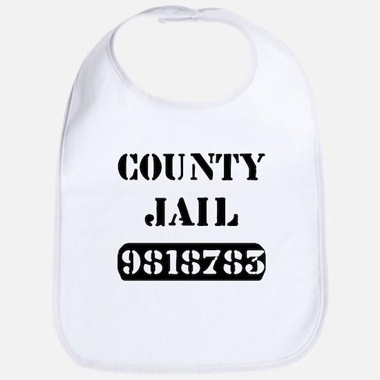Jail Inmate Number 9818783 Bib