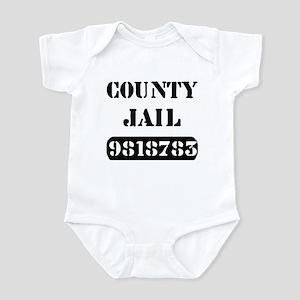 Jail Inmate Number 9818783 Infant Bodysuit
