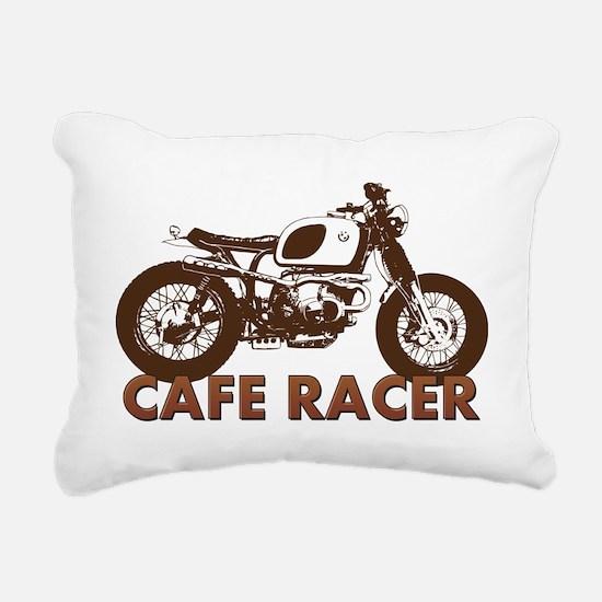 Unique Vintage motorcycles Rectangular Canvas Pillow