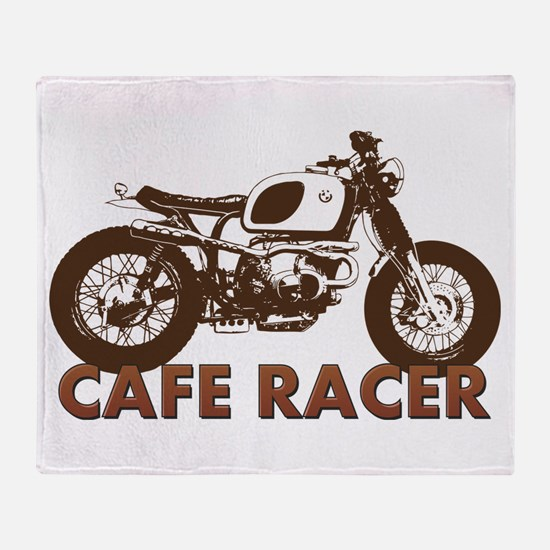 Cute Vintage motorcycle Throw Blanket