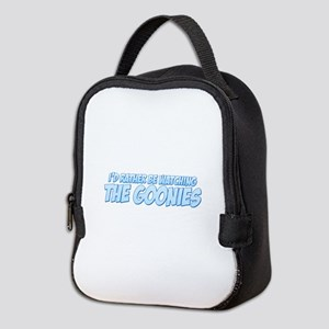 I'd Rather Be Watching The Goonies Neoprene Lunch