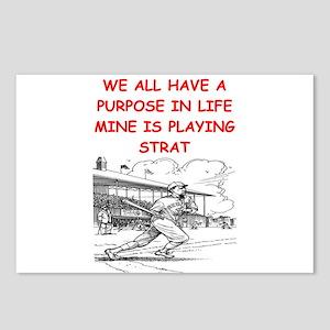 strat baseball Postcards (Package of 8)