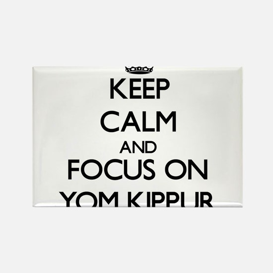 Keep Calm by focusing on Yom Kippur Magnets