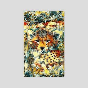 AnimalArt_Cheetah_20171001_by_JAMColors Area Rug