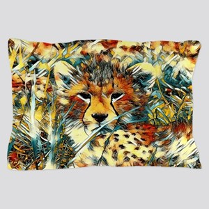 AnimalArt_Cheetah_20171001_by_JAMColor Pillow Case