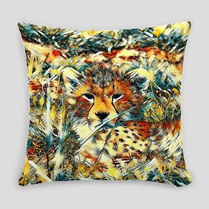 AnimalArt_Cheetah_20171001_by_JAMC Everyday Pillow
