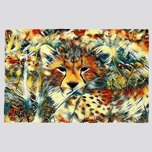 AnimalArt_Cheetah_20171001_by_JAMColor 4' x 6' Rug