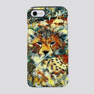 AnimalArt_Cheetah_20171001_by_ iPhone 7 Tough Case
