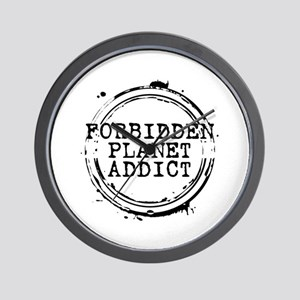 Forbidden Planet Addict Stamp Wall Clock