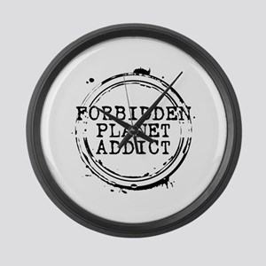 Forbidden Planet Addict Stamp Large Wall Clock