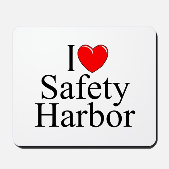 """I Love Safety Harbor"" Mousepad"