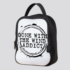Gone With the Wind Addict Stamp Neoprene Lunch Bag
