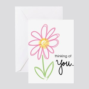 thinking of you Greeting Cards