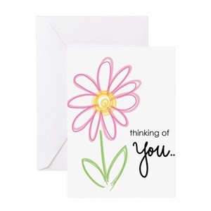 Thinking you greeting cards cafepress m4hsunfo