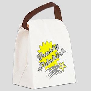 Trusty Sidekick Canvas Lunch Bag